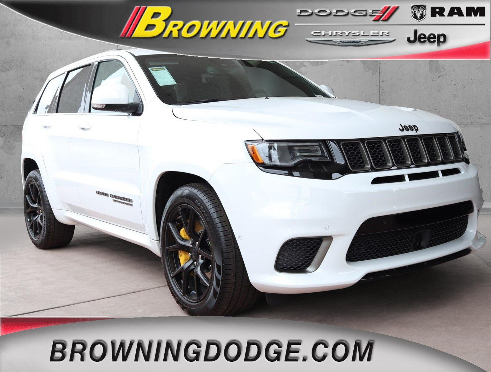 New 2018 JEEP Grand Cherokee Trackhawk Sport Utility in Norco ...