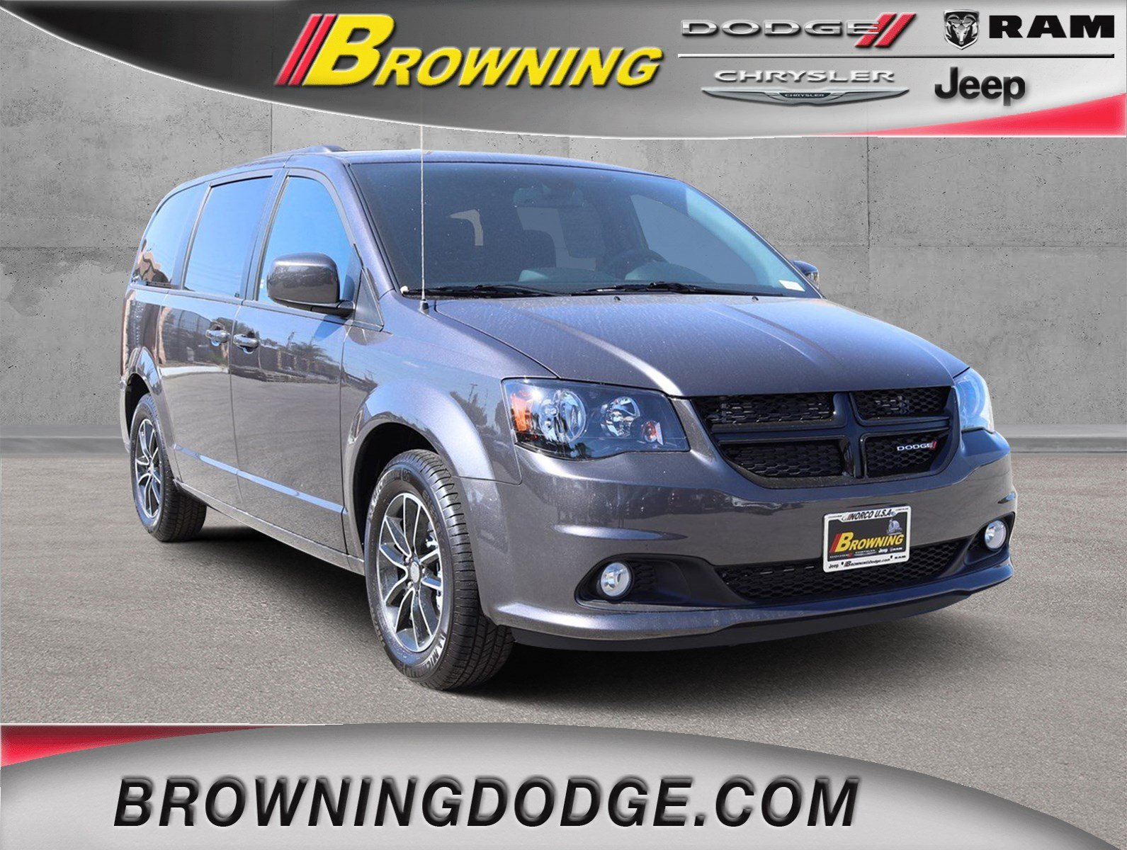 New 2019 Dodge Grand Caravan Se Plus Passenger Van In Norco 9938005